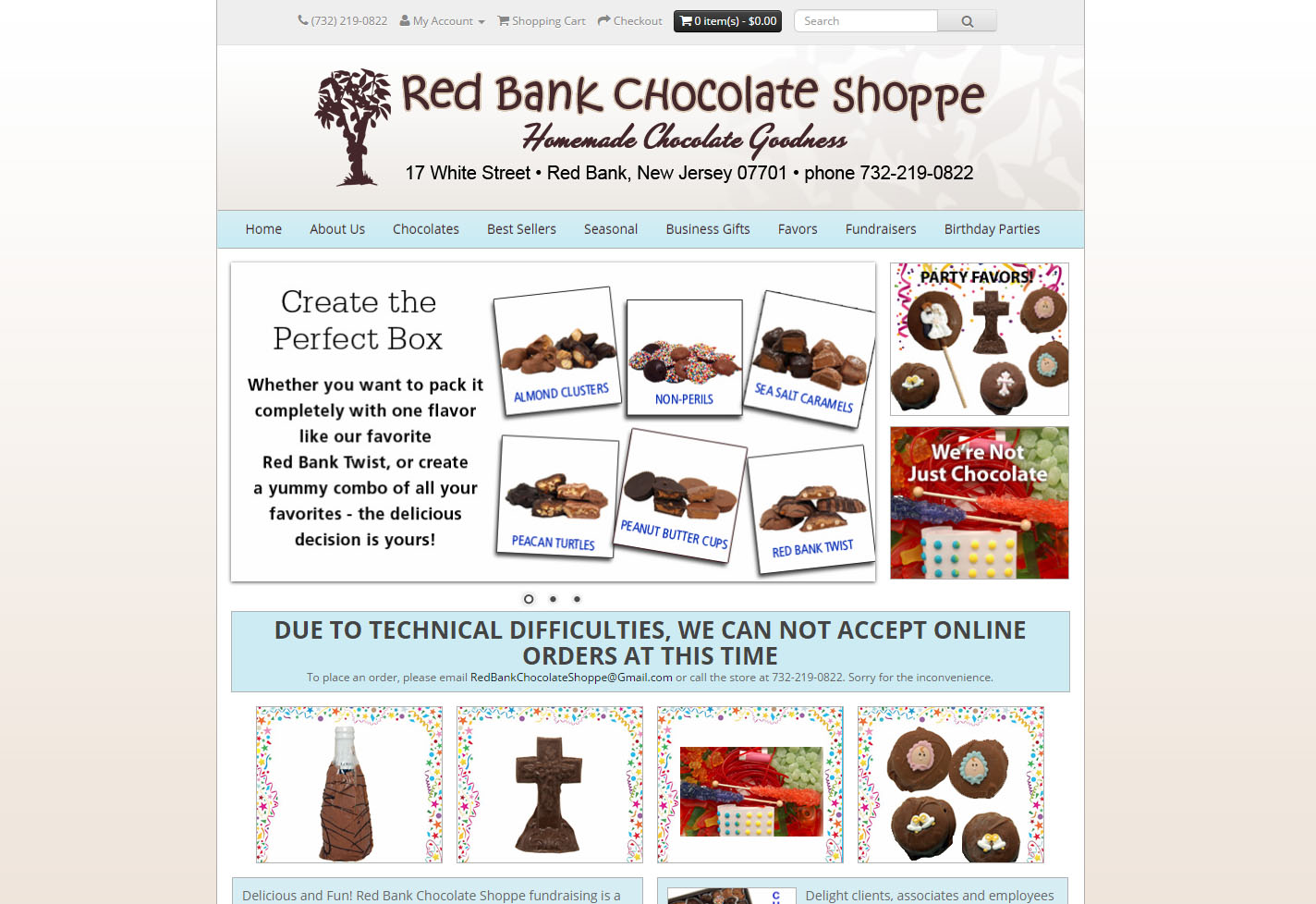 Red Bank Chocolate Shoppe | KB Technical Home